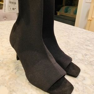 NEW ZARA Open-Toed Boots Size 6
